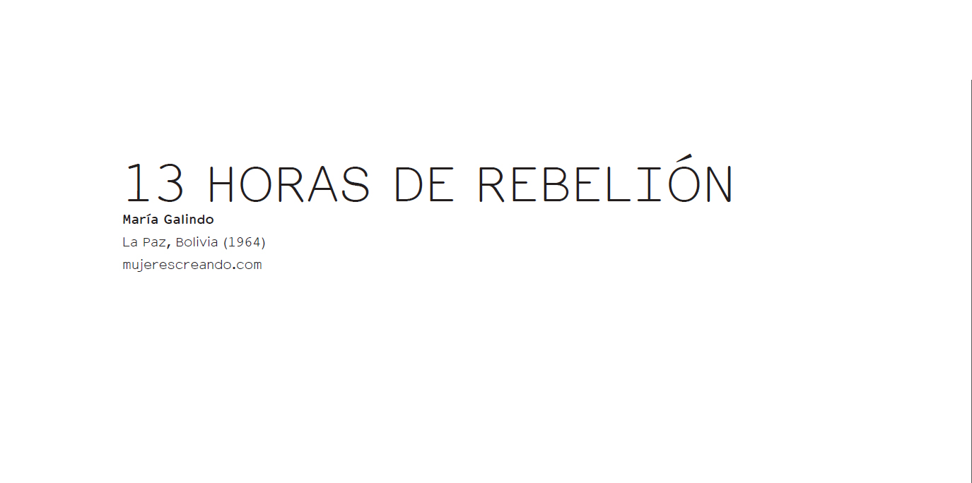 13 HORAS DE REBELIÓN - ERRATA#12