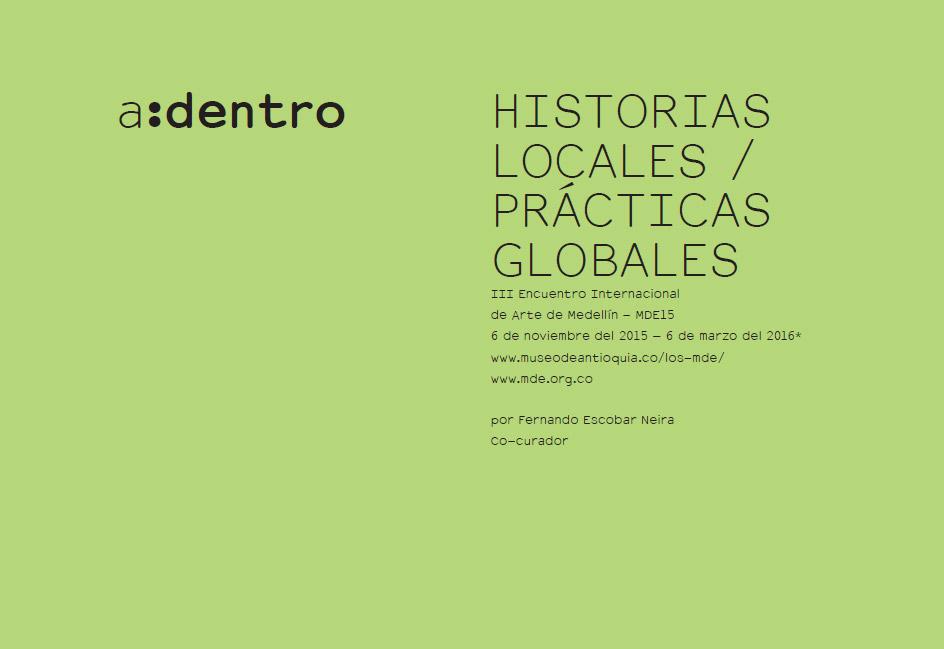 HISTORIAS LOCALES / PRÁCTICAS GLOBALES