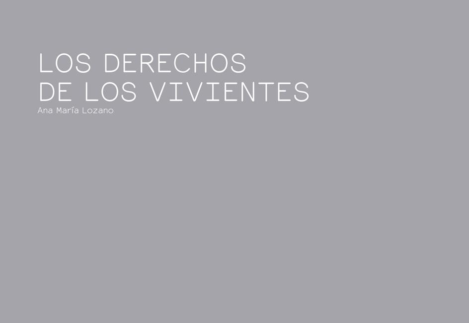 LOS DERECHOS DE LOS VIVIENTES
