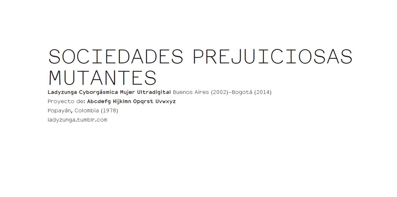 SOCIEDADES PREJUICIOSAS MUTANTES - DOSSIER ERRATA#12